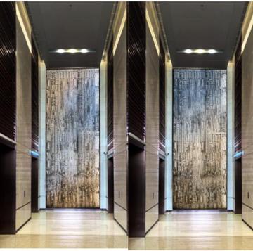 电梯厅艺术装置——HORIZON 视 界