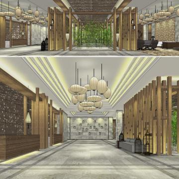 锦绣中和酒店空间设计