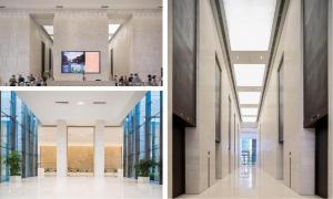 中建财富国际中心大堂艺术软装